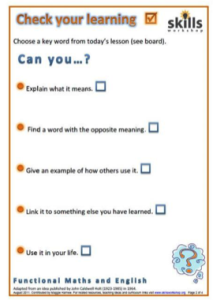 Checklist for SLT support